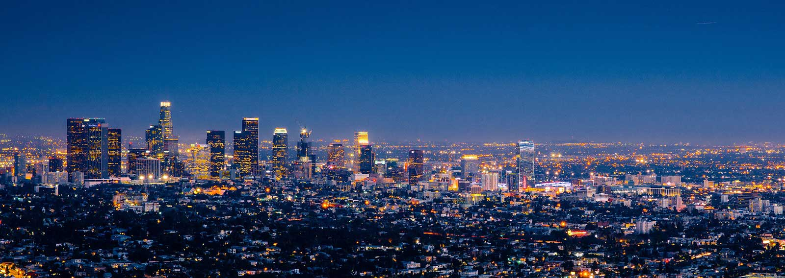Los Angeles at Night - Featured Work