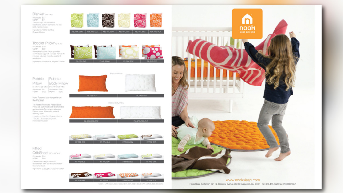Offline Marketing Portfolio Nook Sleep Systems
